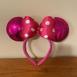 Disneyworld Minnie Mouse Ears Pink
